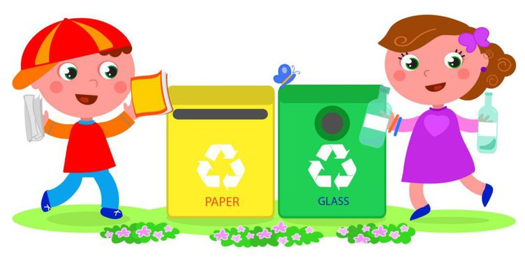 kids recycle
