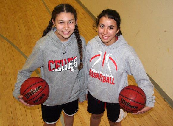 Mia Rodriguez and Lysaida Munoz