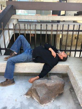 homelesss nap