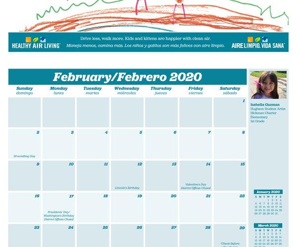 calendar feb