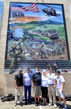 world War ii mural