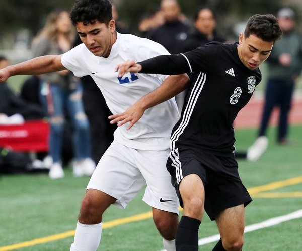 Pitman and Turlock boys soccer 1