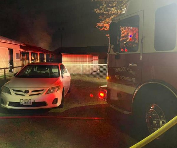 fire at vet hospital