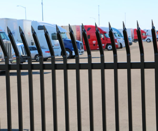 truck park wrought iron