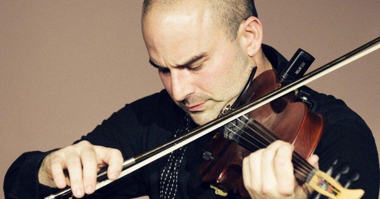 rock violinist
