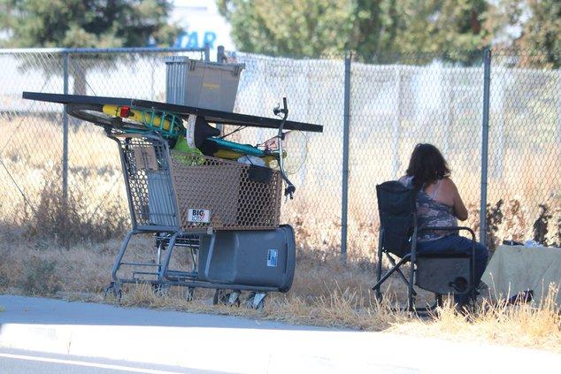 homeless tracy