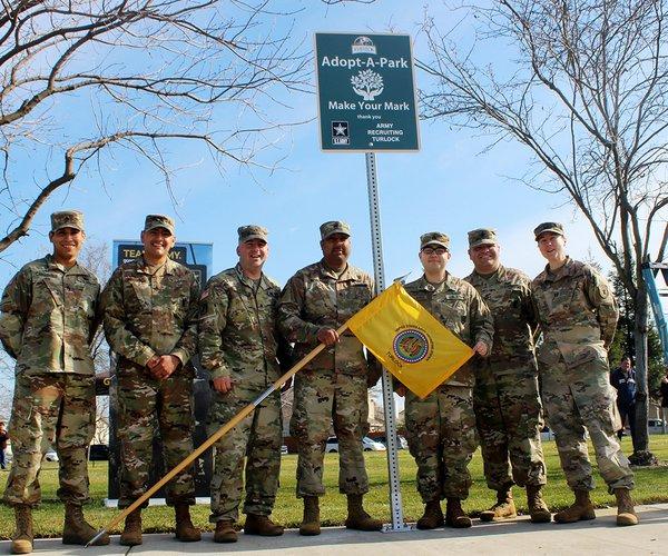 Army adopt a park 1