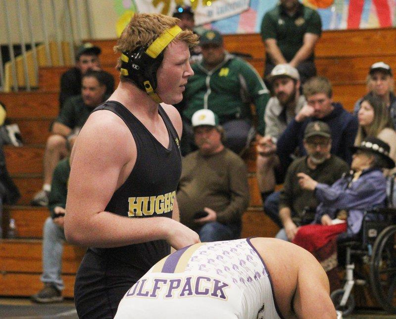 Hughson wrestling