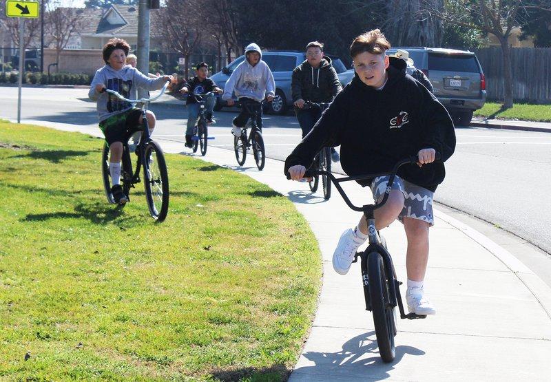 Michael Valdez bike rally 2