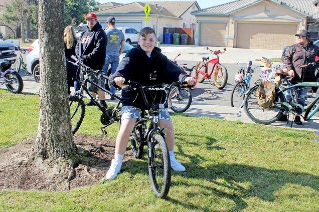 Michael Valdez bike rally 1