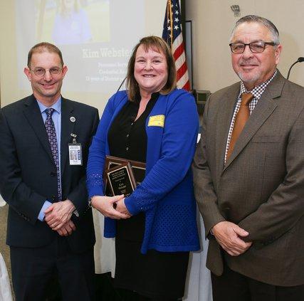 Kim Webster award