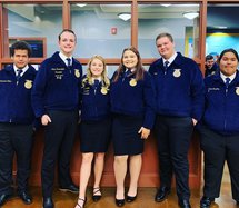 RHS FFA Officers 19-20