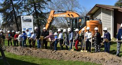 Turlock library groundbreaking