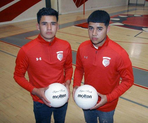 Victor Hurtado and Jacob Rodriguez