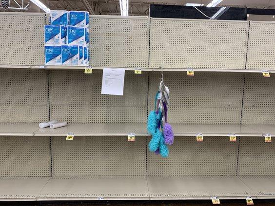 TP shelves