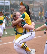Callie Nunes hugs