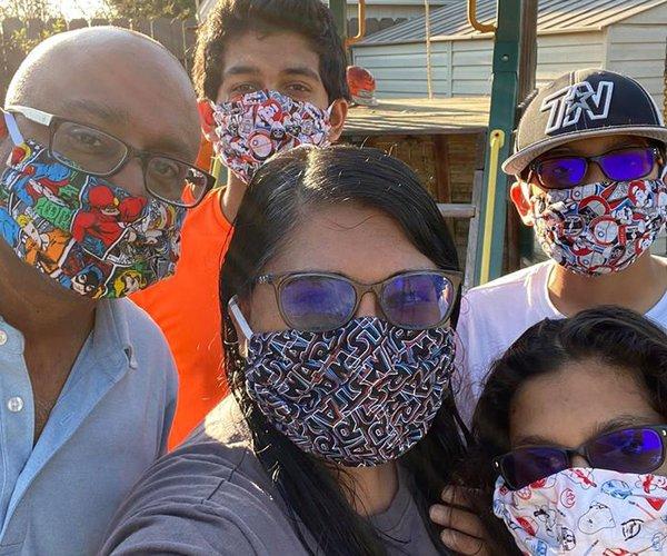 Sunita masks
