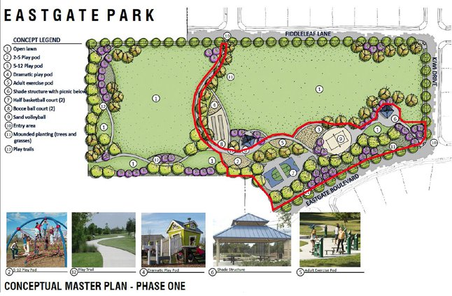 eastgate park schematic
