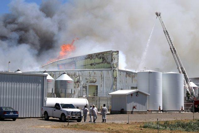 Keyes fire