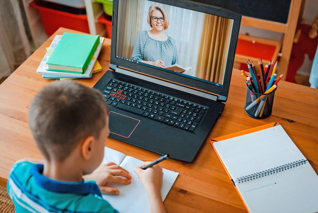 distance learning stock