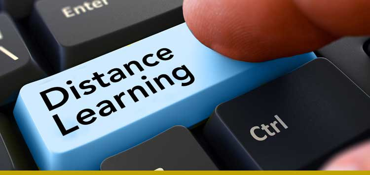 distance learning art