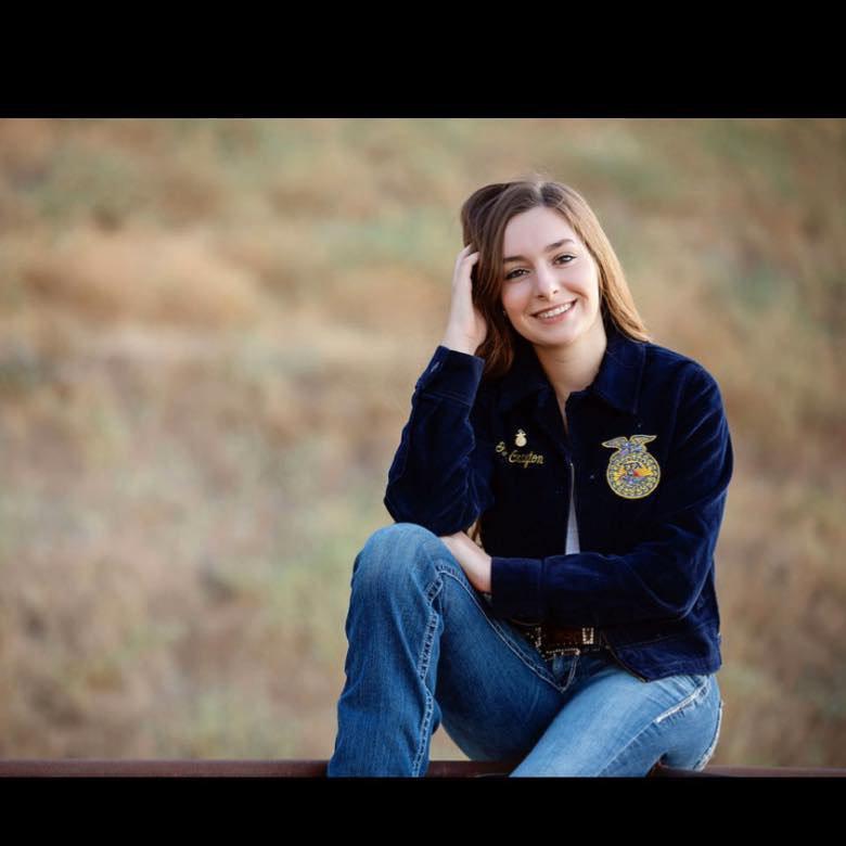 Giovanna Crayton - ag scholarship