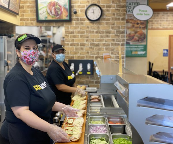 Riverbank Subway staff