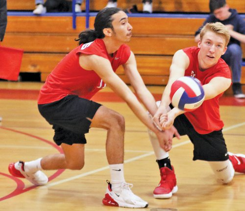 SALUTING SENIORS OF SPRING: East Union boys volleyball