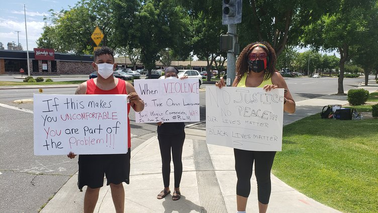BLM protest 1