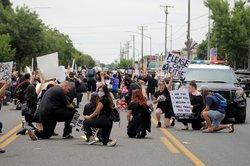 Modesto protest 1