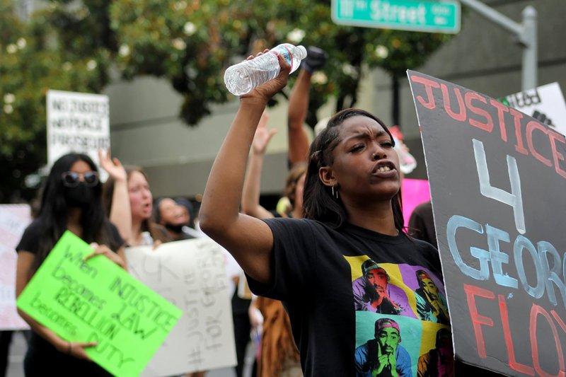 Modesto protest 2