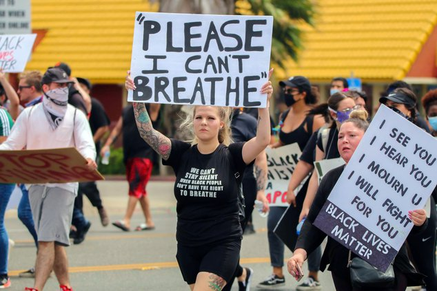Modesto protest