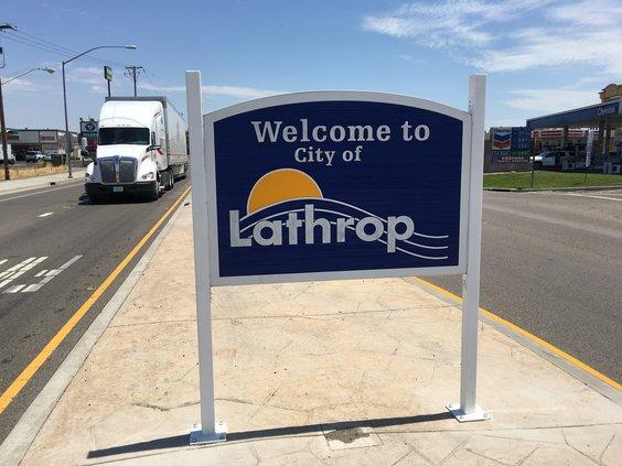 Lathrop signs