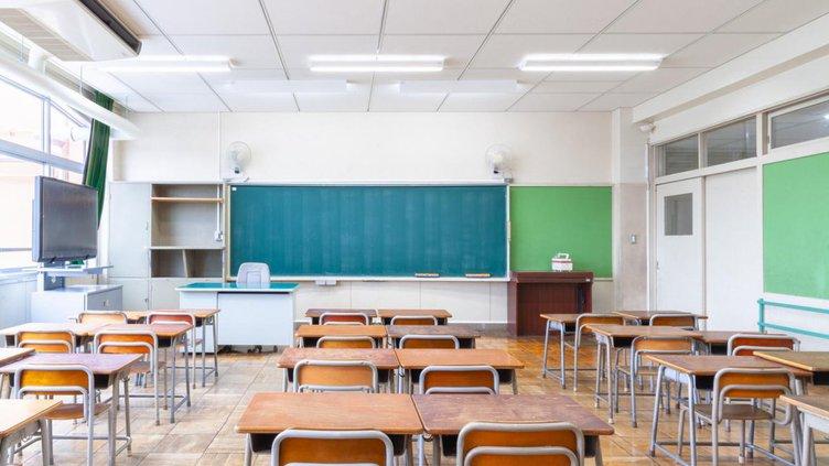 empty classoom