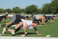 pitman football practice