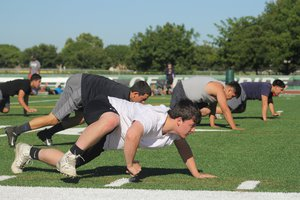 pitman football practice