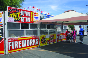 Safe and sane fireworks