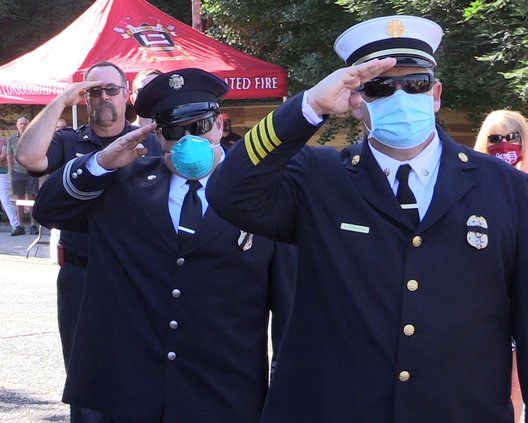 fire fighter salute