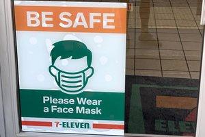 mask sign
