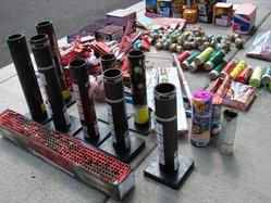 Manteca fireworks