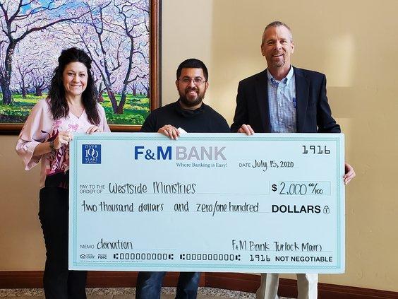 F&M donation