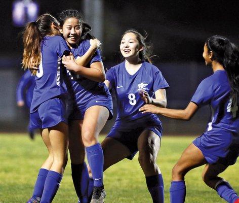 Bulletin girls soccer 2019-20