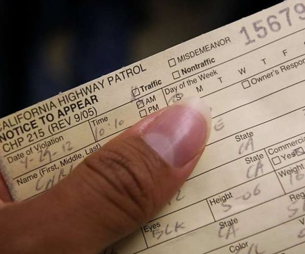 CHP ticket