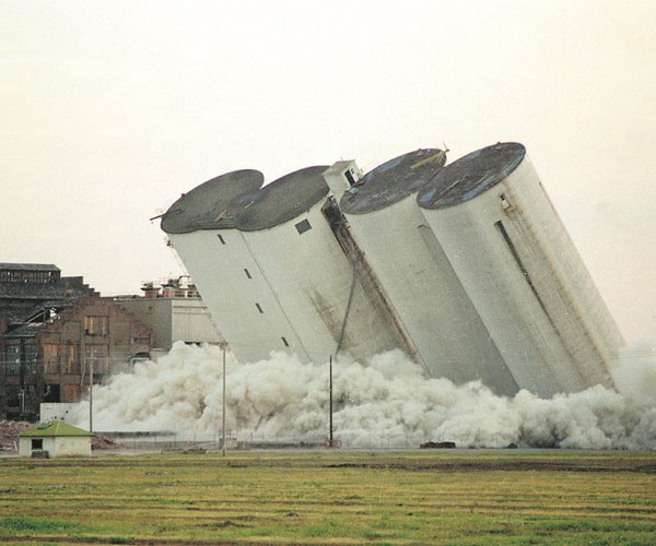silo implode
