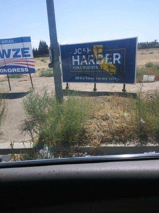 harder sign