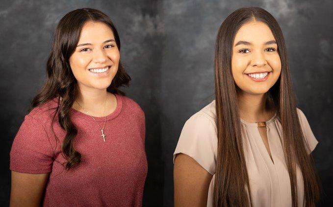 Virginia Moore and Victoria Rodriguez-Ochoa