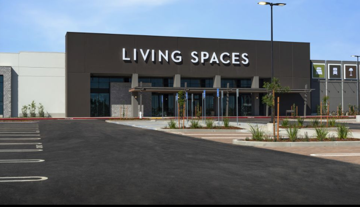 living spaces roseville