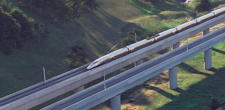 high speed rail bridge