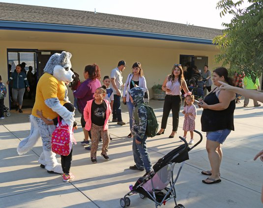 CUSD first day