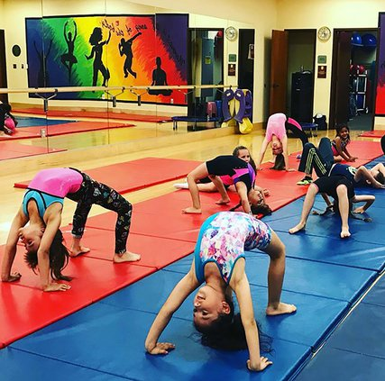 gymnastics at CCC